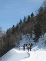 Chemin neige